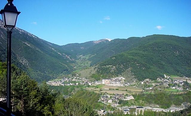Vistes Vall de Sispony d'Andorra