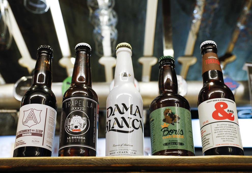 Cervezas elaboradas en Andorra
