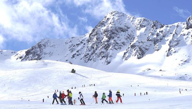 Ordino Arcalis amb neu