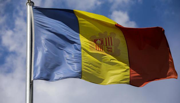 Bandera Principat d'Andorra