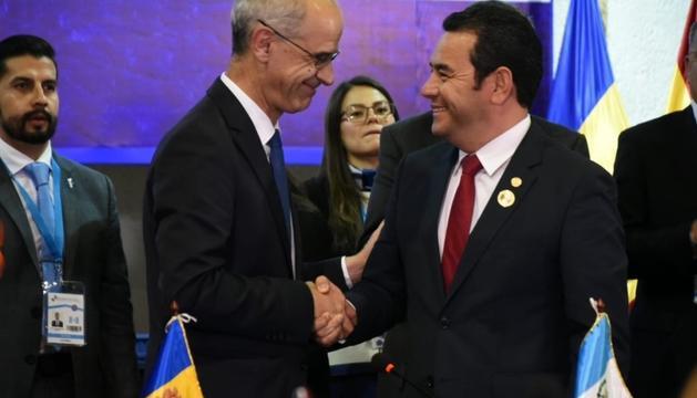 President Guatemala i Toni Marti