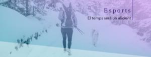 Deportes de invierno senderismo