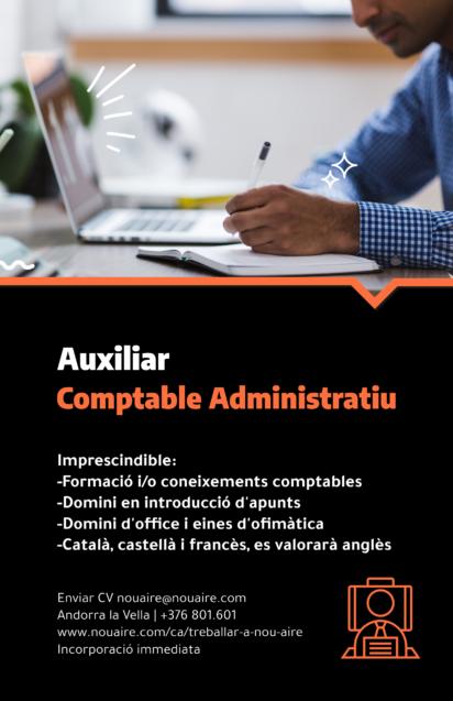 Cerquem Auxiliar Comptable Administratiu