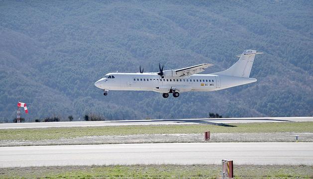 Avió-Aeroport Andorra La Seu Proves GPS