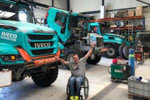 Llovera amb Iveco al Dakar 2020