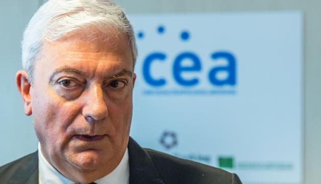 El president de la CEA, Gerard Cadena