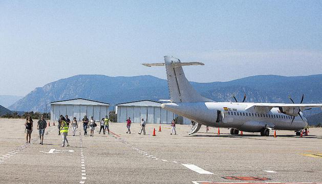 Avió Aeroport Andorra La Seu Proves Grandvalira