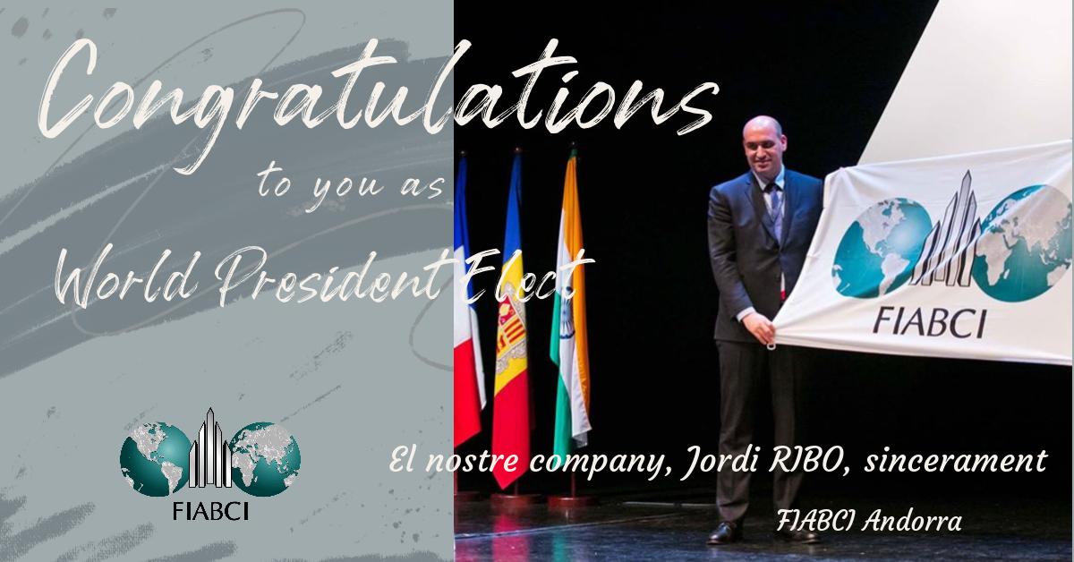 President Elect FIABCI 2020 - 2021