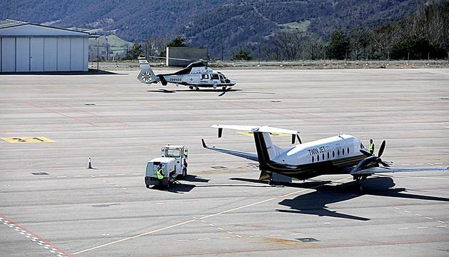 Avió Aeroport Andorra La Seu interesa a 8 companyies